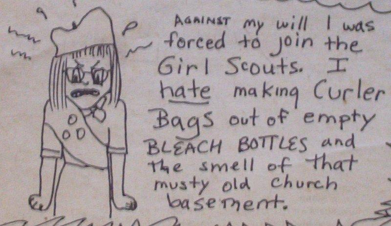 Rat Fink Club cartoon by Nancy Barkdull